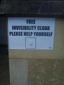 InvisibilityCloak